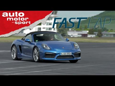 Porsche Boxster Spyder: Der letzte seiner Art - Fast Lap   auto motor und sport