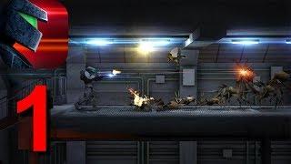 Metal Ranger. Classic Platformer Shooter Game Walkthrough Part 1 Android Gameplay HD