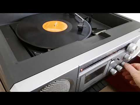 Ferguson 3 wave band stereo music centre vintage record player 70's