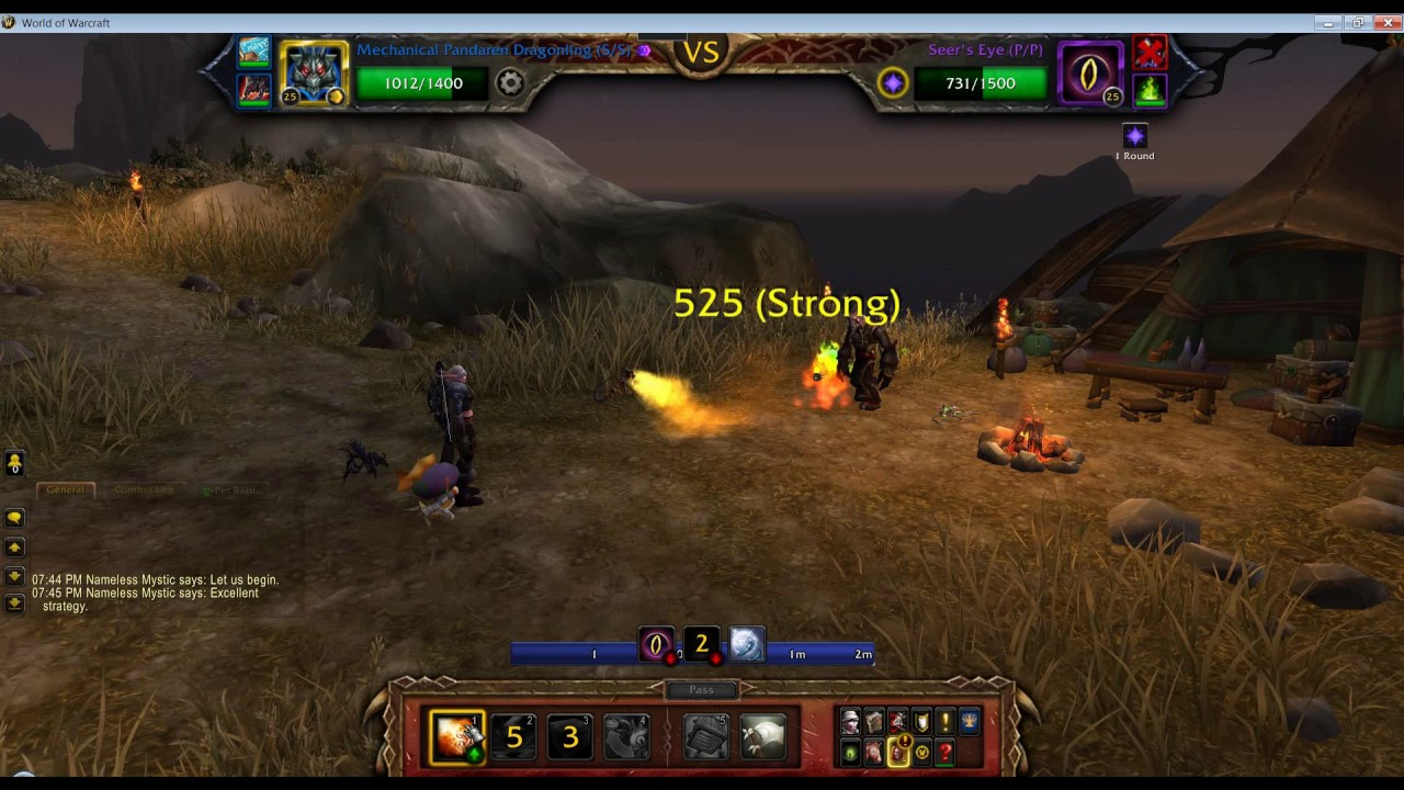 how to start pet battles in wow