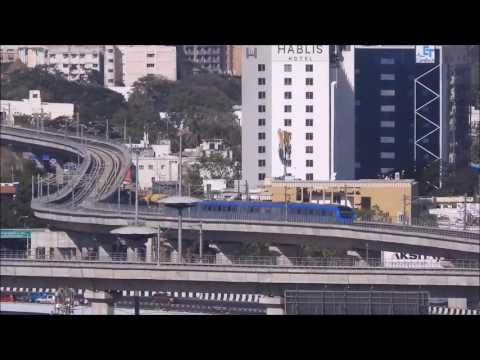 Chennai Metro rollercoaster ride from Alandur to Guindy