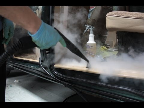 how to clean dirty vinyl car seats