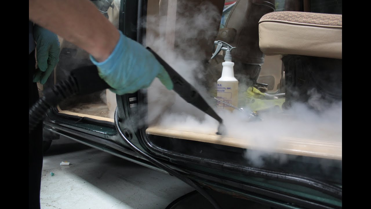 Lovely Interior Auto Detailing Demonstration | Professional Car Cleaning   YouTube