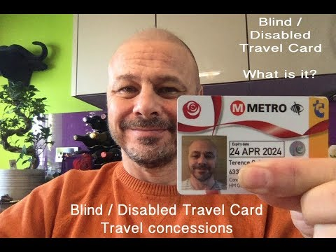 Free Blind And Disabled Travel Card - Metro Card UK