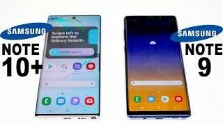 Samsung Galaxy Note 10 Plus Vs Galaxy Note 9 Speed test