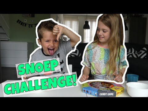 GUMMY CHALLENGE!! NASTY OR NICE CANDY !! - Broer en Zus TV VLOG #166