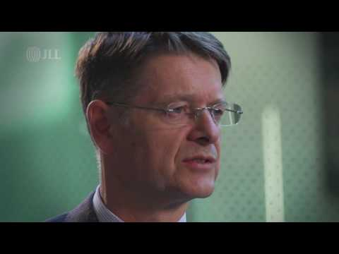 Michael Kenney (Deutsche Pfandbriefbank AG) discusses lending activity with JLL's Chris Holmes