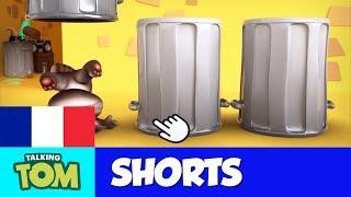 Talking Tom Shorts 7 - Poubelles