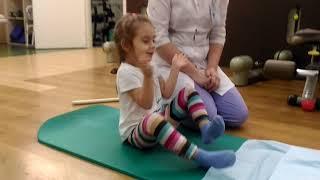 ЛФК гимнастика при сколиозе для детей. Часть 3.