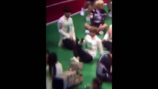 160915 160829 isac knk seungjun giving astro moonbin a chance to talk to bts jungkook