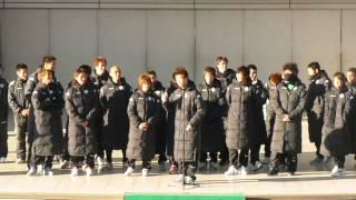 2009東京ヴェルディファン感謝デー 新村選手 ファンタグレープを飲んで・・・