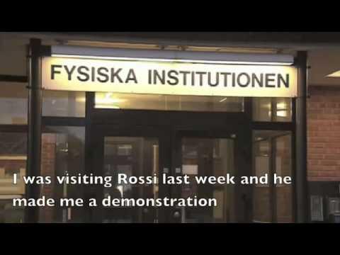 2012 - - Low-Energy Nuclear Reactions (LENRs) - Swedish Public TV -Rossi's E-Cat (English Subtitles)