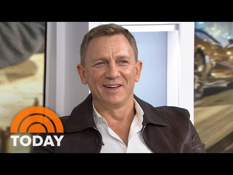Daniel Craig: I Wrecked '3 Or 4' Aston Martins Making 'Spectre' | TODAY