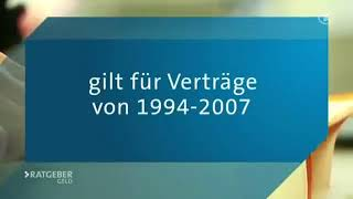 Verway Finance ARD Ratgeber Facto Rückabwicklung der Lebensversicherung