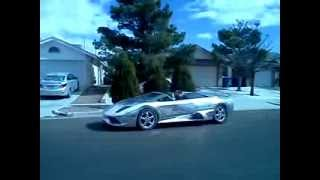 Lambo Murci LP640 Replica Kit Car CHROME Lamborghini Murcielago