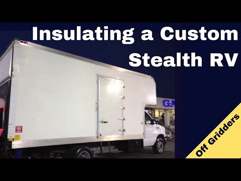 Insulating a Custom Stealth RV | How To Insulate a Camper Van