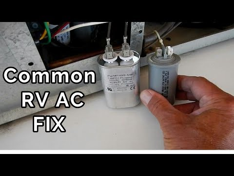 How to easily fix your RV air conditioner.