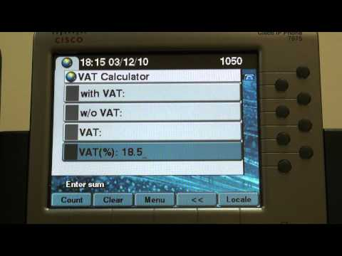 Cisco phone services: Fast VAT calculator - free download