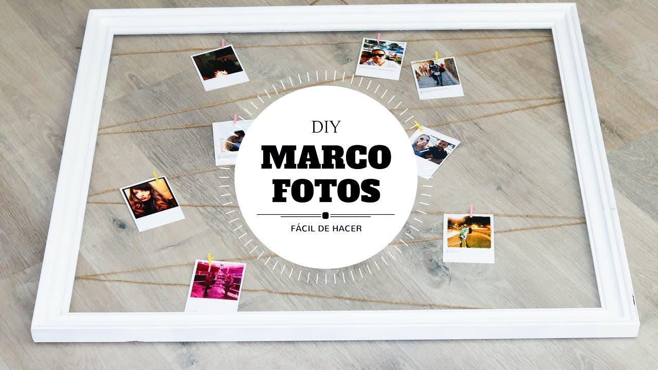 DIY | Marco Fotos Ideas de Regalo Low Cost - YouTube