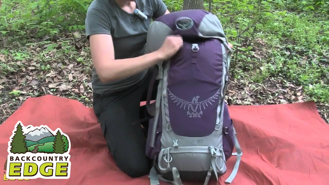 28e441bec1fa Osprey Viva 50 Women s Internal Frame Backpack - YouTube