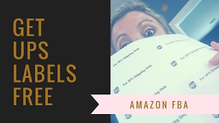 How to Get UPS Labels For Free   Amazon FBA and ebay