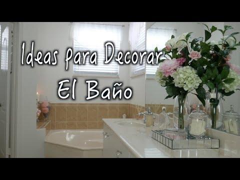 IDEAS PARA DECORAR EL BAÑO/DECORAR TU BAÑO/DECORACION DE BAÑOS /diy Decor Bathoroom