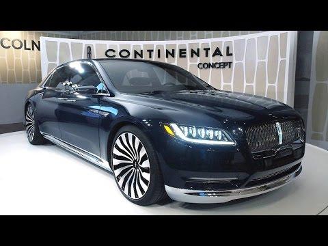 لينكولن كونتيننتال الاختبارية Lincoln Continental Concept ...