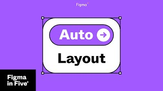 Figma in 5:  Auto Layout