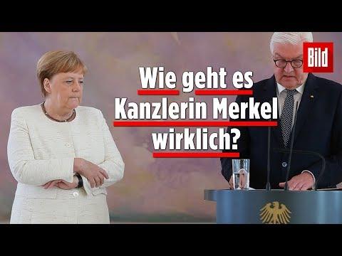 Kurz vor G20-Abreise: Wieder Zitteranfall bei Angela Merkel