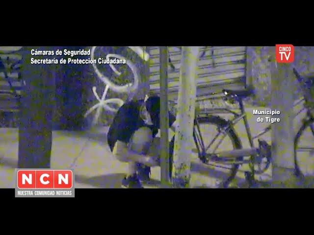 CINCO TV - El COT frustró el robo de una bicicleta en El Talar