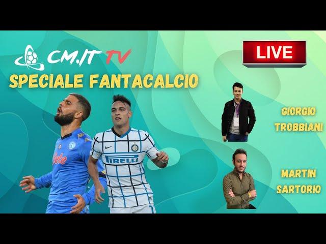 🔴 CMIT TV - Consigli FANTACALCIO - Rispondiamo alle vostre domande LIVE