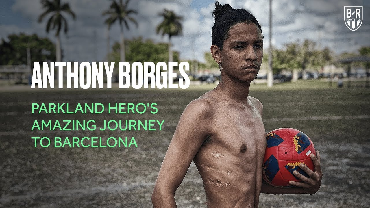 Parkland Shooting Survivor Anthony Borges' Incredible Journey to Barcelona
