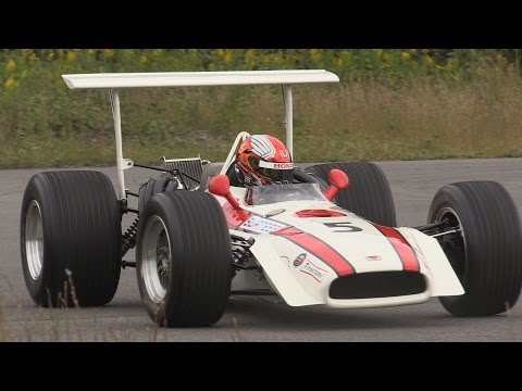 Honda F1 RA301 (1968) - Final 3.0L V12 NA sound of Honda F-1