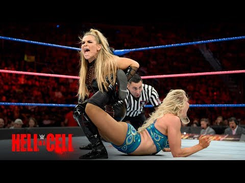 Charlotte Flair fights through the pain of an injured leg against Natalya: WWE Hell in a Cell 2017