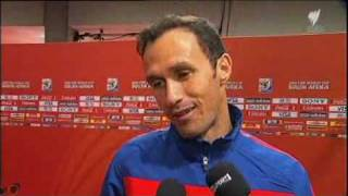 English interview with Portugal players after the Ivory Coast / Cote d