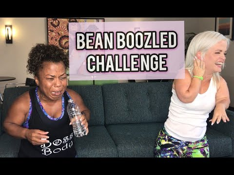 Little People Run Different  Bean Boozled Challenge with Mini Mama and Tonya Banks aka Lil Boss