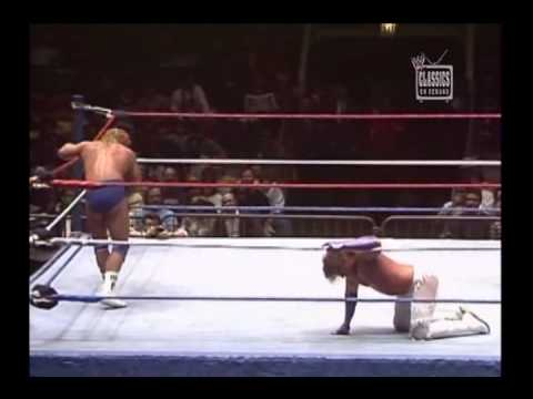 "Mr. Perfect Vs. Brutus ""The Barber"" Beefcake (WWF 1989)"