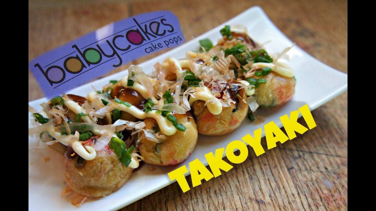 how to make takoyaki with a babycakes cake pop maker ft doovi. Black Bedroom Furniture Sets. Home Design Ideas