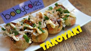 How to Make Takoyaki with a Babycakes Cake Pop Maker ft. Cooking With Dog
