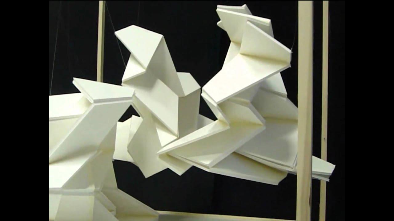 rigid origami architecture