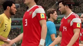 Oroszország - Szaúd-Arábia Világbajnoki Mérkőzés A Csoport (FIFA 18)