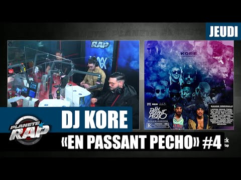 Youtube: Planète Rap – Dj Kore«En passant pécho» avec RK, Sadek, Zeguerre, Doria, Max Paro… #Jeudi