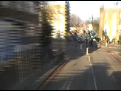 London Bus Route 171 from Catford to Holborn - 8x speed.