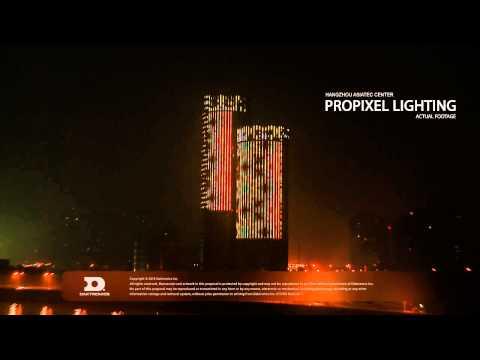 Hangzhou Asiatic Center ProPixel Lighting