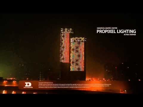 """Hangzhou Asiatic Center ProPixel Lighting"""