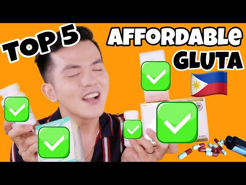 TOP 5 AFFORDABLE GLUTATHIONE IN THE PHILIPPINES THAT WORKS!