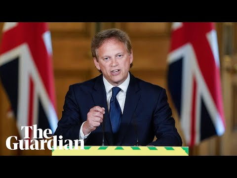Coronavirus: Grant Schapps holds UK daily briefing – watch live