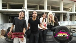 Video Ketemu Cast JAGOAN INSTAN di INDONESIA COMIC CON download MP3, 3GP, MP4, WEBM, AVI, FLV Juni 2018