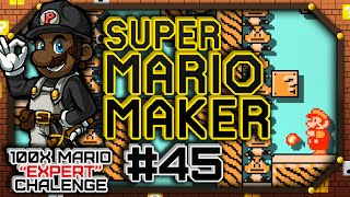100x Mario EXPERT Challenge #7 - Part 3 | Super Mario Maker #45 (Let