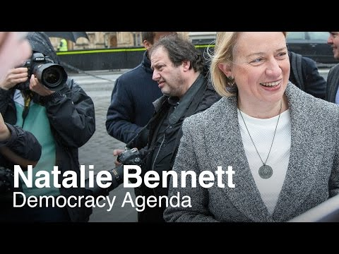 Democracy Agenda, with the Green Party's Natalie Bennett